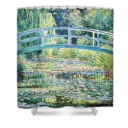 The Water Lily Pond By Monet Shower Curtain