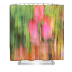 The Watercolor Garden Shower Curtain by Aimelle
