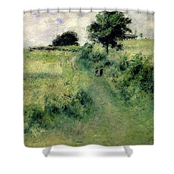 The Watering Place Shower Curtain by Renoir