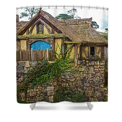 The Watermill, Bag End, The Shire Shower Curtain