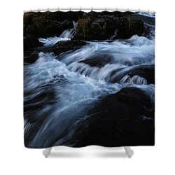 The Waters Of Kirkjufell Shower Curtain