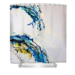 The Wave 3 Shower Curtain