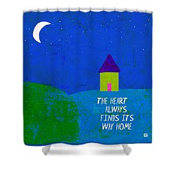 The Way Home Shower Curtain