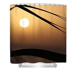 the way I lean Shower Curtain by Jez C Self