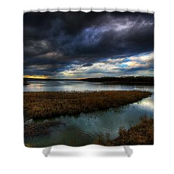 The Way Of The River Shower Curtain