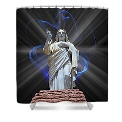 Shower Curtain featuring the photograph The Way by Shane Bechler