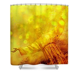 Shower Curtain featuring the photograph The Way, The Truth, The Life by Joel Witmeyer
