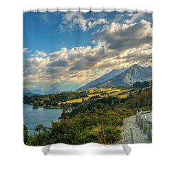 The Way To Glenorchy Shower Curtain