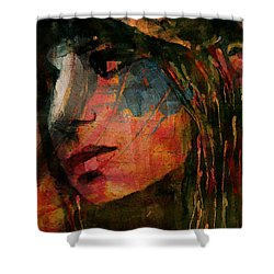 Shower Curtain featuring the painting The Way We Were  by Paul Lovering