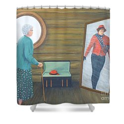 The Way We Were Shower Curtain