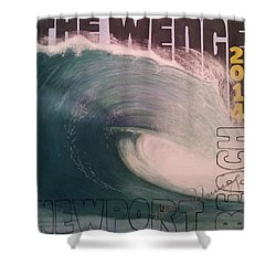 The Wedge 2014 Shower Curtain