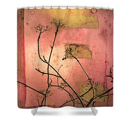 The Weeds Shower Curtain