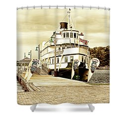 The Wenonah II Shower Curtain