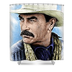 The Western Collection Monty Walsh Shower Curtain