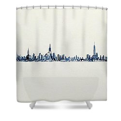 The Westside Shower Curtain