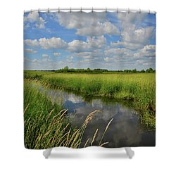 The Wetlands Of Hackmatack National Wildlife Refuge Shower Curtain