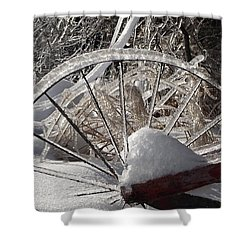 The Wheel Shower Curtain