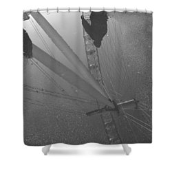 The Wheel Of Life Shower Curtain