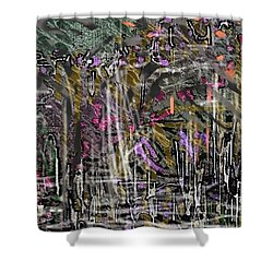 The Whisper Of The Street Shower Curtain