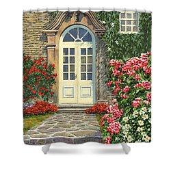 The White Door Shower Curtain