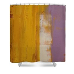The White Stripe Shower Curtain