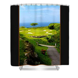 The White Witch Jamaica Shower Curtain