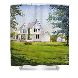 The Whitehouse Shower Curtain