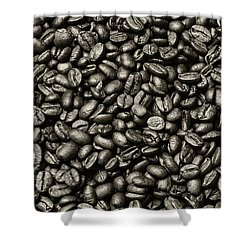 Shower Curtain featuring the photograph The Whole Bean by Andy Crawford