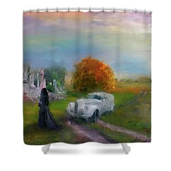 The Widow Shower Curtain