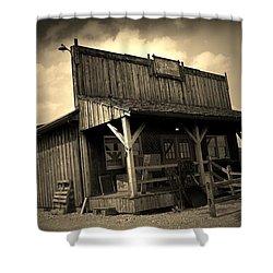 The Wild West Shower Curtain
