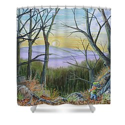 The Wild Wood Shower Curtain