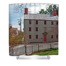 The William Pitt Tavern Shower Curtain