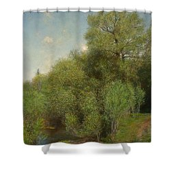 The Willow Patch Shower Curtain