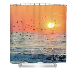 The Wind Calls My Name Shower Curtain