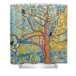 The Wind Dancers Shower Curtain by Pat Saunders-White
