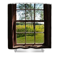 Shower Curtain featuring the photograph The Window  1 by Joanne Coyle