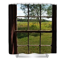 Shower Curtain featuring the photograph The Window 2 by Joanne Coyle