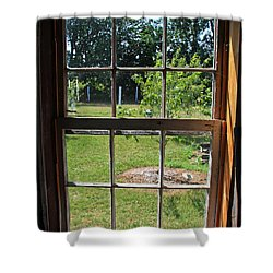 Shower Curtain featuring the photograph The Window 3 by Joanne Coyle