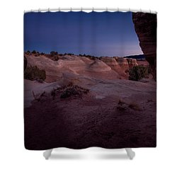 The Window In Desert Shower Curtain
