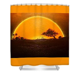 The Wisdom Tree Shower Curtain