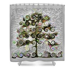 The Wishing Tree Shower Curtain