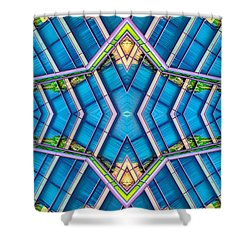The Wit Hotel N90 V3 Shower Curtain by Raymond Kunst