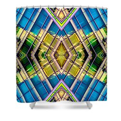 The Wit Hotel N90 V4 Shower Curtain by Raymond Kunst