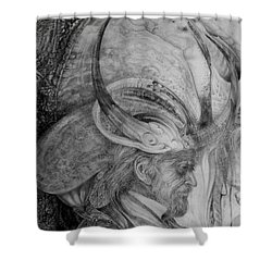The Wizard Of Earth-sea Shower Curtain