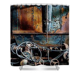 The Wizard's Music Box Shower Curtain