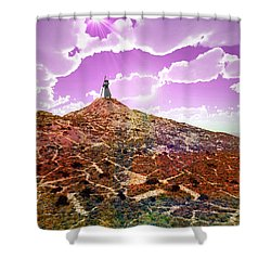 The Wizzard Shower Curtain