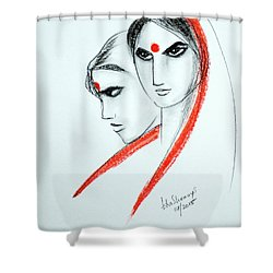 The Women Shower Curtain