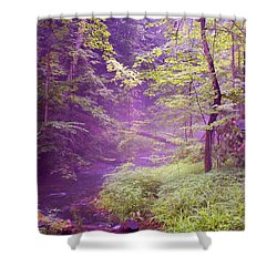 The Wonder Of Nature  Two Shower Curtain