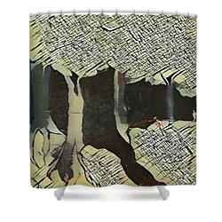 The Woods Are Lovely Shower Curtain