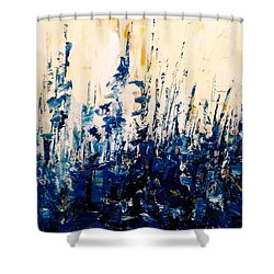The Woods - Blue No.1 Shower Curtain